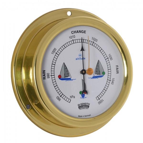 Altitude Barometer 858NLB Messing 125mm