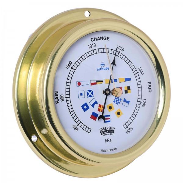 Altitude Barometer 858sfb messing 125mm