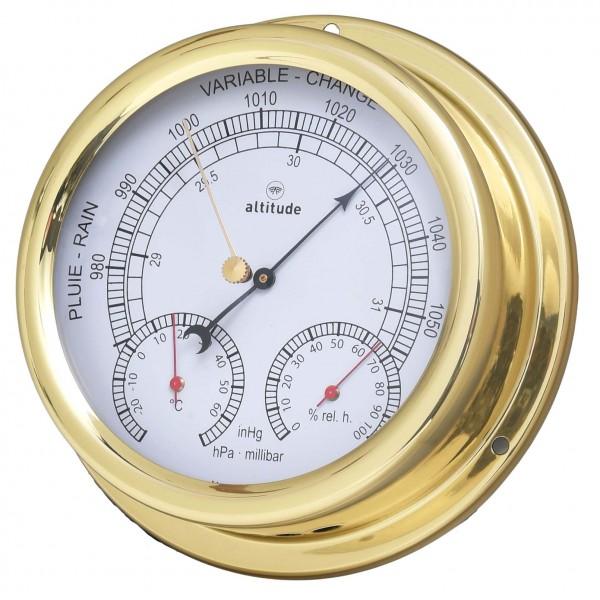 Altitude Wetterstation 866BTH messing 150mm
