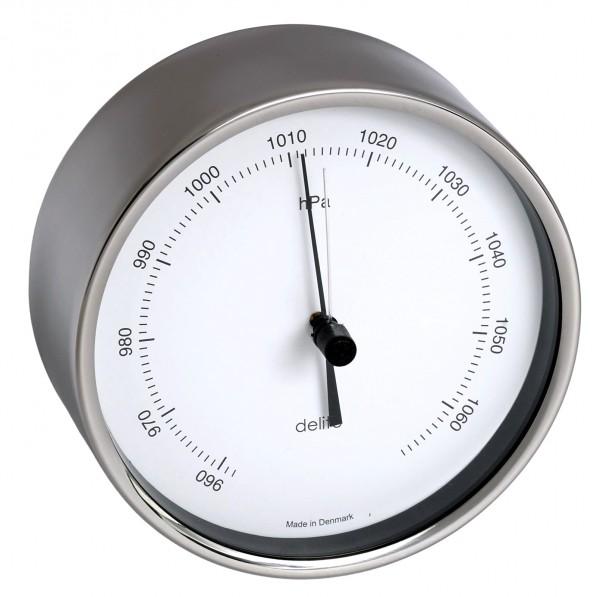 Clausen Barometer Edelstahl poliert 100mm