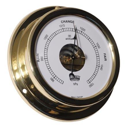 Barometer im Messinggehäuse