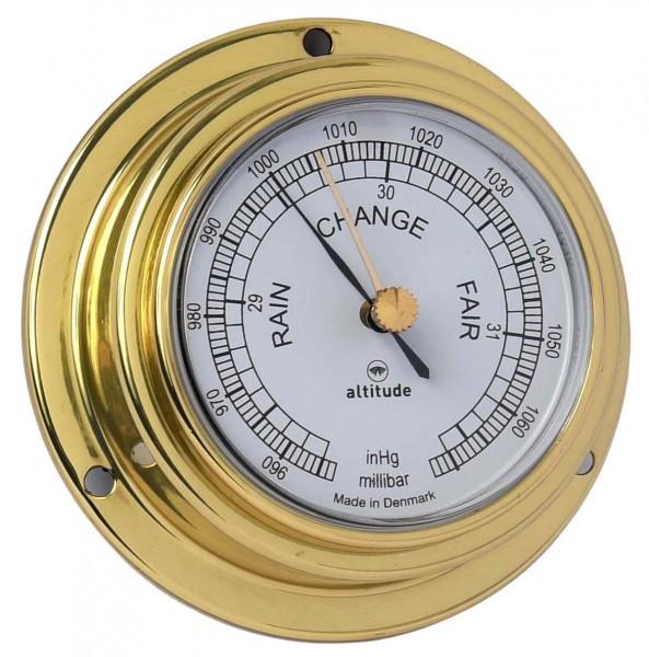 Altitude Barometer 842B uk messing Ø95mm