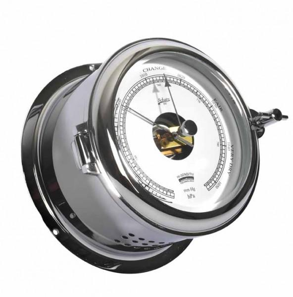 Schiffsbarometer chrom