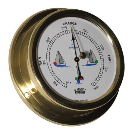 Altitude Barometer 858NLB uk ms Ø127mm