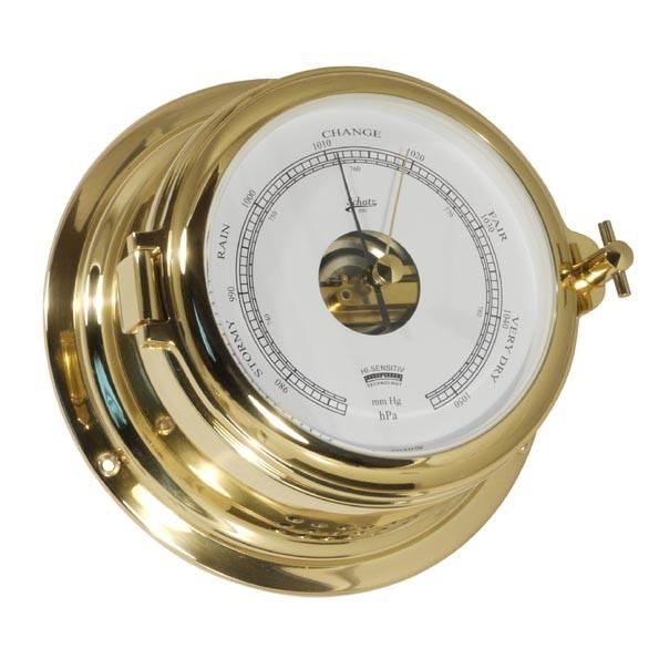 Barometer im klassischen Bullaugen Design