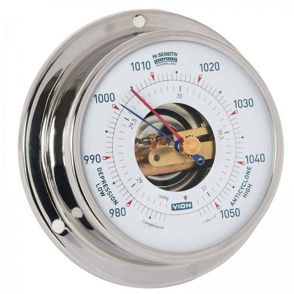 Vion Barometer A080 B chrom Ø97mm