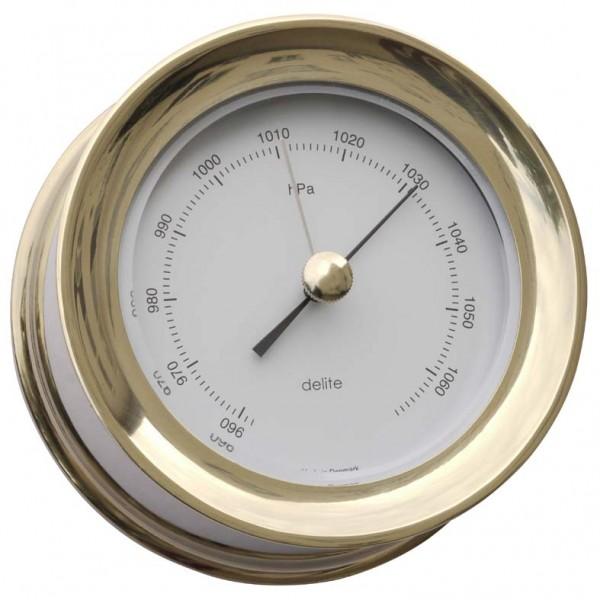 Delite Zealand Barometer Edelstahlmessing