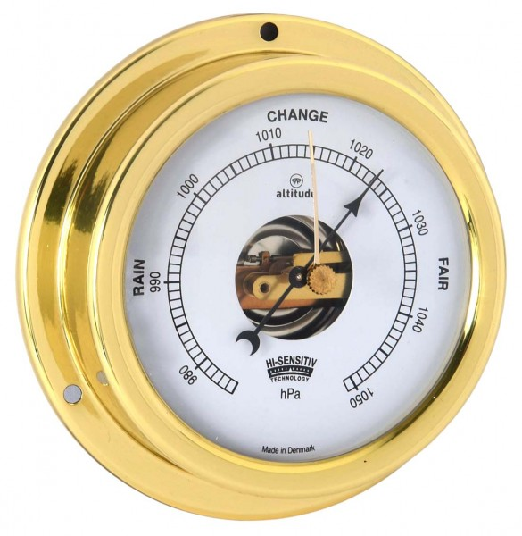 Altitude Barometer 858B Messing 125mm