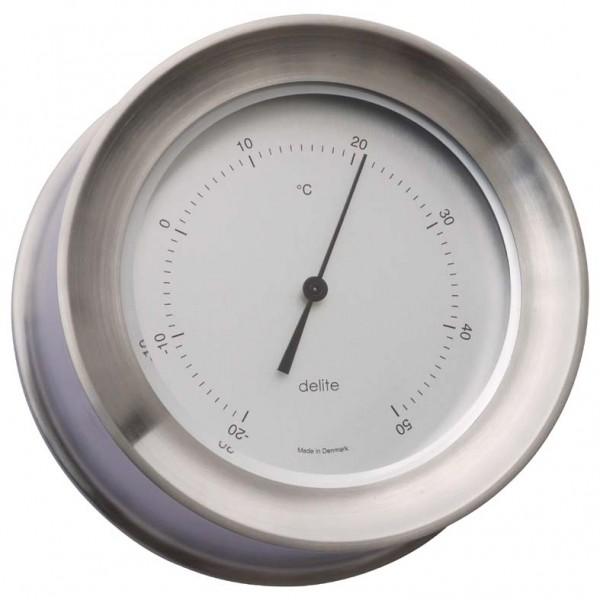 Delite Zealand Thermometer Edelstahl gebürstet
