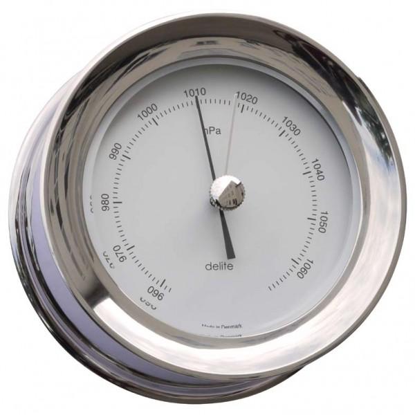 Delite Zealand Barometer Edelstahl poliert