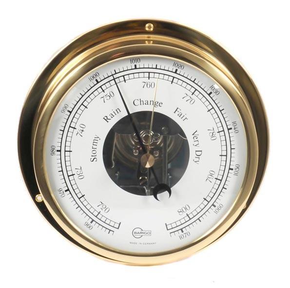 Thermohygrometer Analog Barigo Tempo S Comfortmeter Messing Wetterstationen Haushaltsgeräte