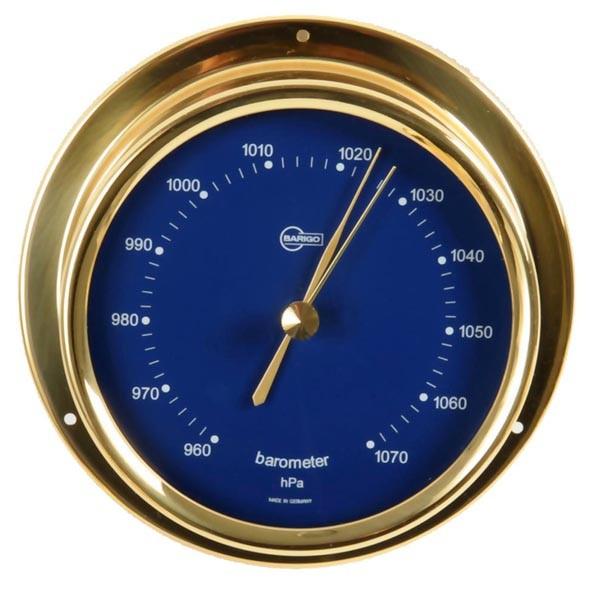 Barometer eingefasst in ein Messinggehäuse
