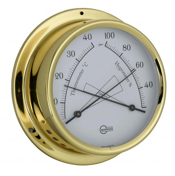 Barigo Thermometer Hygrometer Messing 120mm 984ms