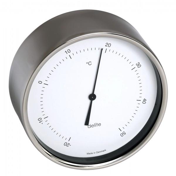 Clausen Thermometer Edelstahl poliert 100mm