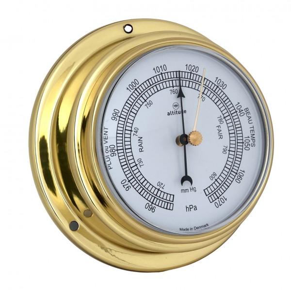 Altitude Barometer 852B uk messing Ø125mm
