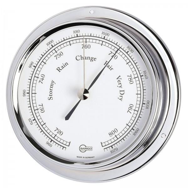 Barigo Barometer Regatta chrom Ø120mm