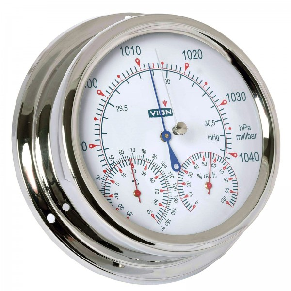 Vion Wetterstation A130BTH Chrom 150mm