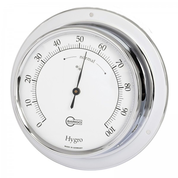 Barigo Hygrometer Tempo chrom Ø110mm