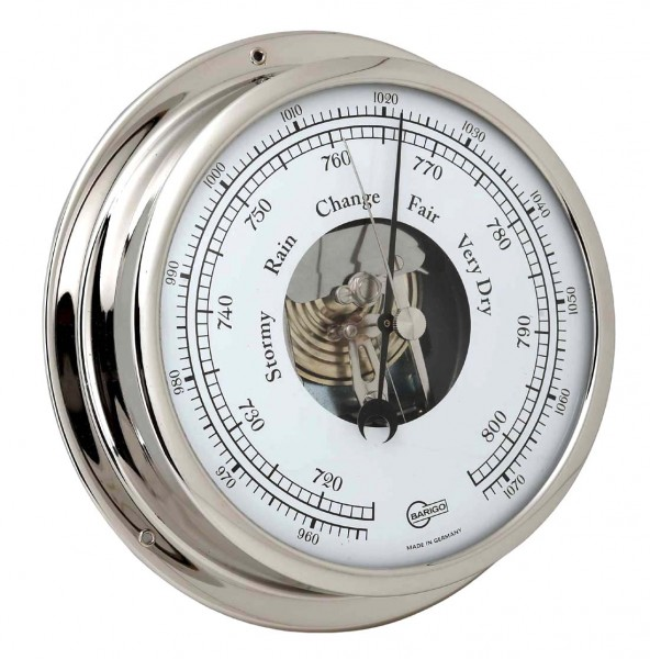 Barigo Barometer Viking chrom Ø155mm