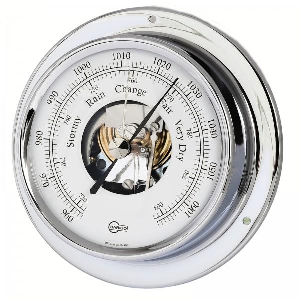 Barigo Schiffsbarometer Tempo chrom Ø110mm