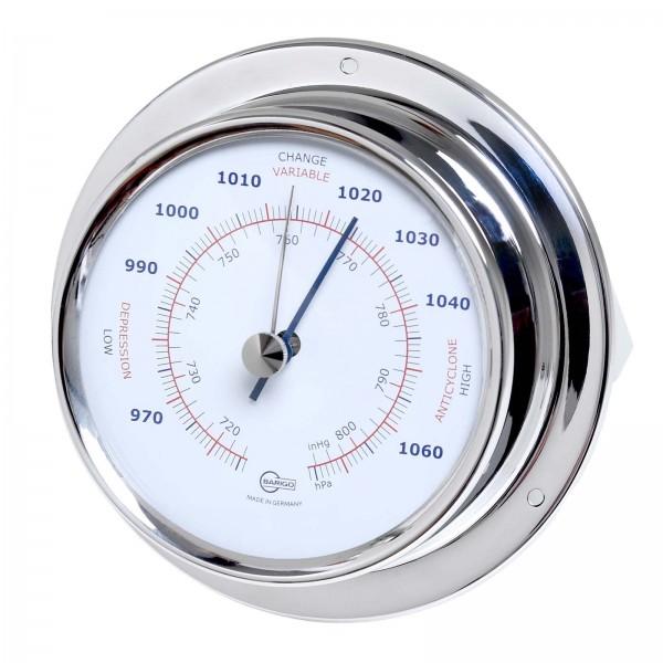 Barigo Sky Barometer Edelstahl poliert Ø110mm