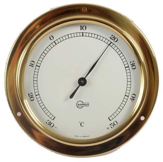 Thermometer im Messinggehäuse