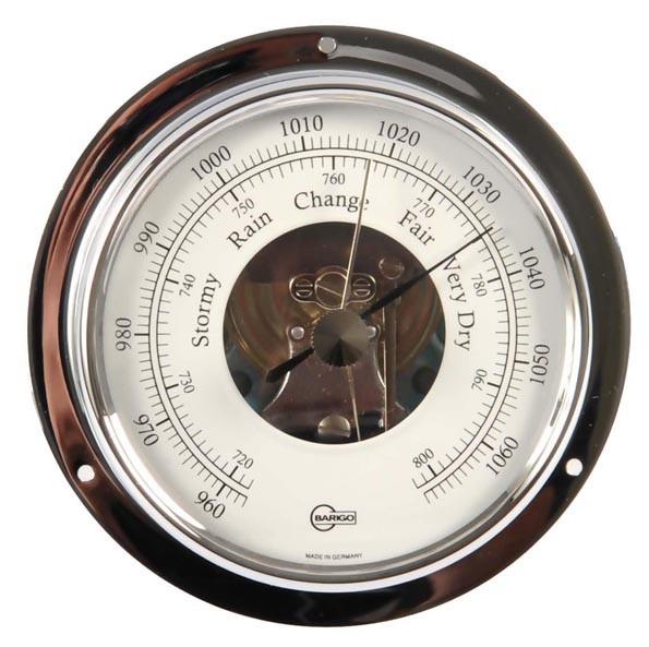 Barigo 1710cr Tempo S Barometer Mit Offener Skala Chrom 88mm Sonstige Sport